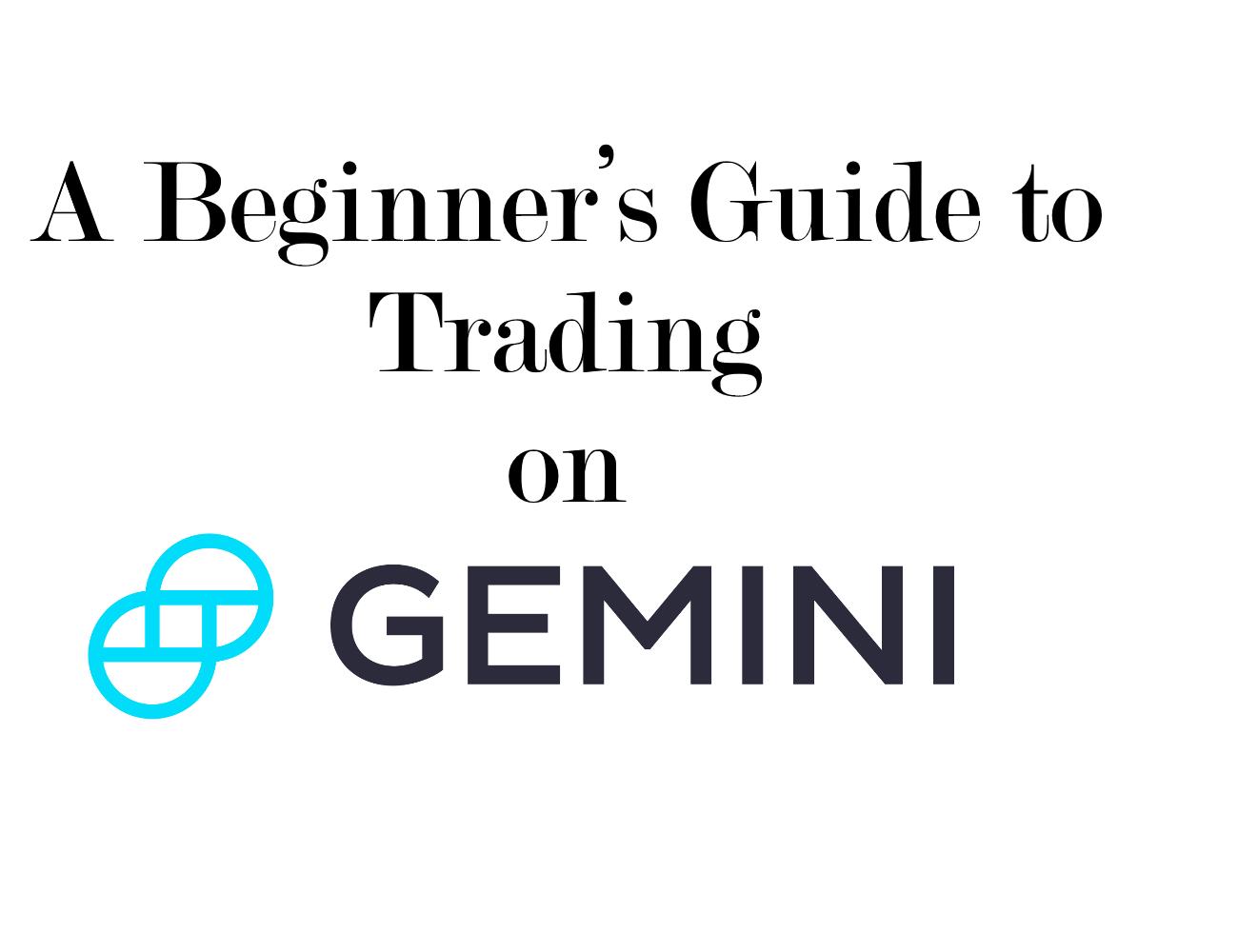 gemini trade bitcoin eth forex trading training course sydney